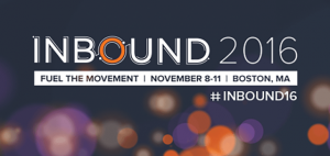 Inbound Marketing in Bosten 2016 #Inbound16